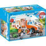 PLAYMOBIL® City Life 70049 Rettungswagen mit Licht und Sound, bunt