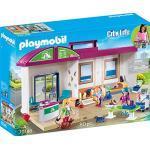 PLAYMOBIL City Life 70146 Mitnehm-Tierklinik mit Figuren, Tieren und Zubehör, ab 4 Jahren