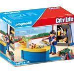PLAYMOBIL® City Life 9457 Hausmeister mit Kiosk, bunt