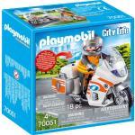 PLAYMOBIL® City Life - Notarzt-Motorrad mit Blinklicht