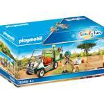 PLAYMOBIL® Family Fun 70346 Zoo-Tierarzt mit Fahrzeug, bunt