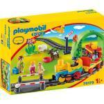 Playmobil® Konstruktions-Spielset »Meine erste Eisenbahn (70179), Playmobil 1-2-3«
