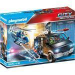 Playmobil® Konstruktions-Spielset »Polizei-Helikopter: Verfolgung des Fluchtfahrzeugs (70575), City Action«, Made in Germany
