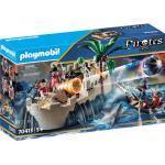 PLAYMOBIL® Pirates 70413 Rotrockbastion, bunt