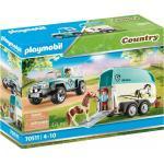 Playmobil PKW mit Ponyanhänger Themenwelt: Bauernhof (4-10)