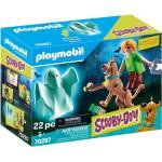 Playmobil Scooby Doo - SCOOBY-DOO Scooby & Shaggy with Ghost