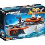 Playmobil® Spielzeug-Boot »PLAYMOBIL® 70002 - Top Agents - Spy Team Turboship«