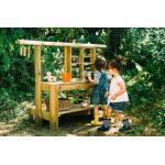 Plum Discovery Küche - Kinderküche Outdoor - Spielküche - Holz Küche Kinder