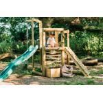 Plum Discovery Spielhaus - Kletterturm mit Rutsche - Spielturm