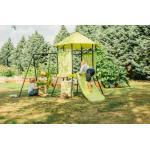 Plum Kletterturm Spielturm - My First - mit Babyschaukel und Rutsche