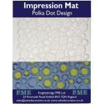 PME Impression Mat Polka Dot