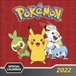 Pokémon Broschurkalender 2022