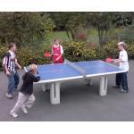 Polymerbeton-Tischtennisplatte SOLIDO