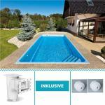 Swimmingpools & Schwimmbecken glänzend aus Keramik