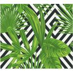 Pop.up Panel selbstklebend 36854-2 Floral Grafik grün schwarz