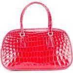 Prada Pre-Owned Kleine Handtasche aus Krokodilleder - Rot