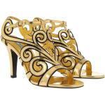 Prada Pumps - Mirror Sandals Leather Gold - in gold - für Damen