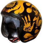 Premier Helm Le Petit BD 12 BM gelb schwarz Gr. M+ 58/59