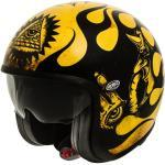 Anthrazitfarbene Premier Jet Helme