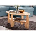 Beige Home Affaire Premium Collection Wohnzimmermöbel geölt aus Massivholz