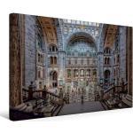 Premium Textil-Leinwand 45 cm x 30 cm quer Ein Motiv aus dem [4056502635079] Gleis 9 3/4