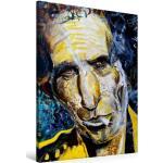 Premium Textil-Leinwand 60 cm x 90 cm hoch Keith Richards [4059478399181]