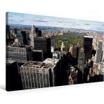 Premium Textil-Leinwand 75 cm x 50 cm quer Central Park [4056502365532] New York im Comic-Stil