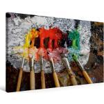 Premium Textil-Leinwand 75 cm x 50 cm quer Ölfarben [4056502538035]