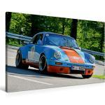 Premium Textil-Leinwand 90 cm x 60 cm quer Porsche 911 SC R - [4059477111395]
