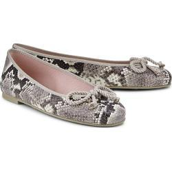 Pretty Ballerinas Fashion-Ballerina python Damen