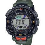 PRG-240-3ER Pro Trek Outdoor Herren-Armbanduhr Schwarz/Grün