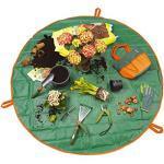 PRIMA GARDEN Pflanzunterlage und Utensilienbeutel 2in1 | Ø ca. 148 cm | Für sauberes Umtopfen und Bepflanzen auf Balkon & Terrasse | Auch für Zimmerpflanzen geeignet | Schnelles Verstauen