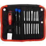 Primaster Schraubendreher-Set 11- teilig Bits, Werkzeugtasche (GLO760250893)