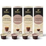 Probierset Tchibo Cafissimo Blonde Roast Edition Espresso und Caffè Crema Kapseln, Premium Qualität, 40 Stück (4x10 Kapseln)