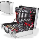 Profi Alu Werkzeugkoffer mit Werkzeug-Set 109 tlg Werkzeugkasten Werkzeugsset bestückt