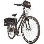 Prophete E-Bike Entdecker e9000 Damen, 8 Gang, Shimano, Acera, Heckmotor 250 W grau E-Bikes Fahrräder Zubehör