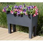 Prosperplast Pflanzkübel Rato Case High, BxTxH: 80x33x65 cm schwarz Pflanzgefäße Blumenvasen Wohnaccessoires
