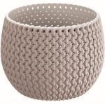 Prosperplast Splofy Bowl Basic Blumentopf 18 Cm, Mocca Dksp180n-7529u