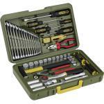 Proxxon Industrial Werkzeugkoffer 23650, mit 47-teiligem Werkstattsortiment - Werkzeugtasche/Montagekoffer