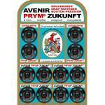 Prym Annäh-Druckknöpfe (21 mm/ schwarz/ 12 St.)
