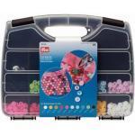 Prym Nähfrei Druckknöpfe Color Snaps rund 12,4mm Box 300Snaps + Werkzeug-Set bunt