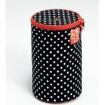 Prym Woll-Spender Polka Dots schwarz/weiß