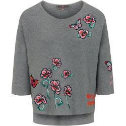Pullover 3/4-Arm Lieblingsstück Grau