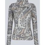 Pullover Alba Moda Taupe/Off-white/Hellgrau