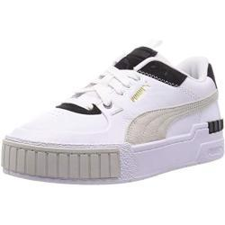 Puma Damen CALI Sport Mix WN S Sneaker, White Black, 36 EU