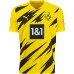 Schwarze Puma BVB Borussia Dortmund Trikots für Herren - Heim 2020/21