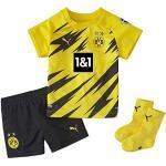 Schwarze Puma Yellow BVB Borussia Dortmund Trikots für Herren Übergrößen zum Fußballspielen - Heim