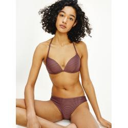 Violette Tommy Hilfiger Push Up Bikinis gepolstert für Damen Größe M