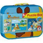 Puzzle Box - 4 Sendung mit der Maus Puzzle im Metallkoffer (Schmidt 55597)