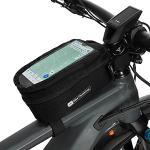 Qeedo Bike Phone Bag, Handy Tasche Fahrrad, Lenkrad Tasche, Fahrrad Tasche vorne